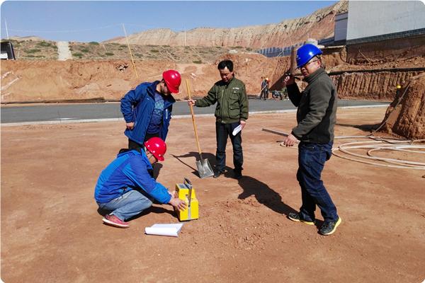 泵站基础干密度检测