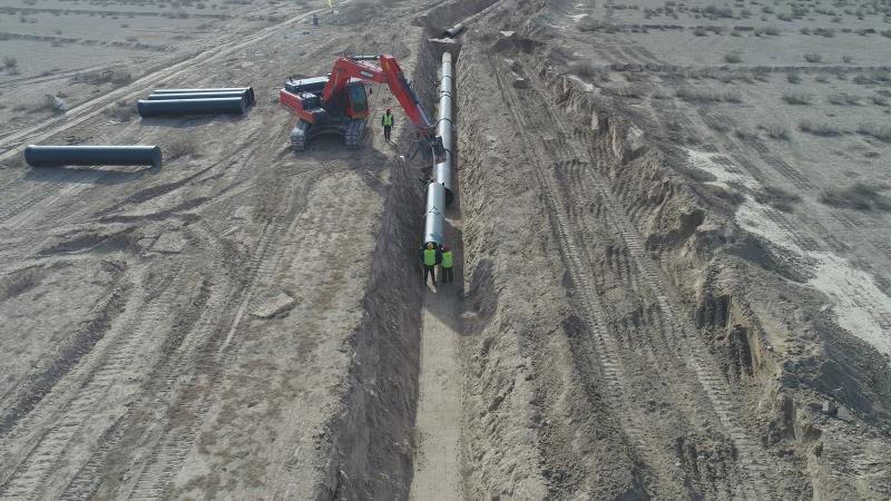 红寺堡区马渠生态移民区供水管道提升改造工程已全面竣工