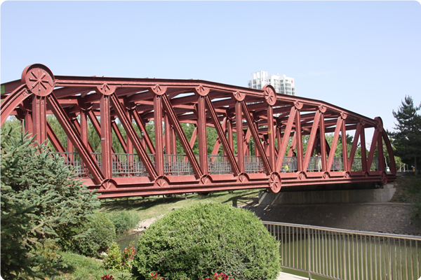银川森林公园幸福桥