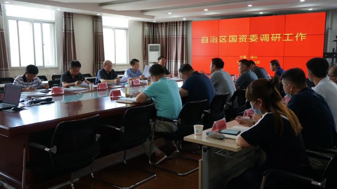 自治区国资委主任刘德军一行到宁工局公司调研